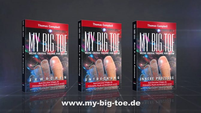 My Big TOE-Trilogie Buecher 3D